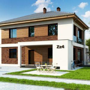 Фото 9 - Zz4 - Двухэтажный коттедж с уютной террасой и балконом.