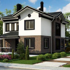 Проекты домов в традиционном стиле