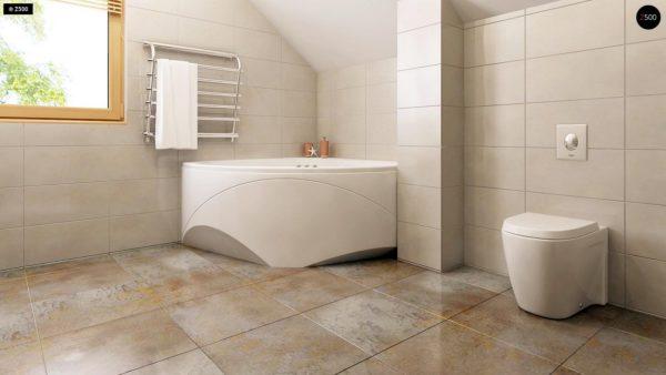 Фото 16 - Z1 bl - Версия проекта дома Z1 без люкарен.