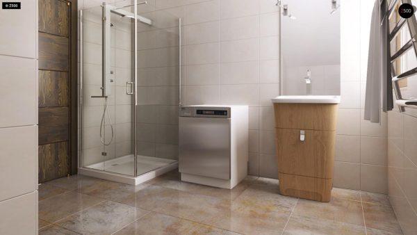 Фото 18 - Z1 bl - Версия проекта дома Z1 без люкарен.