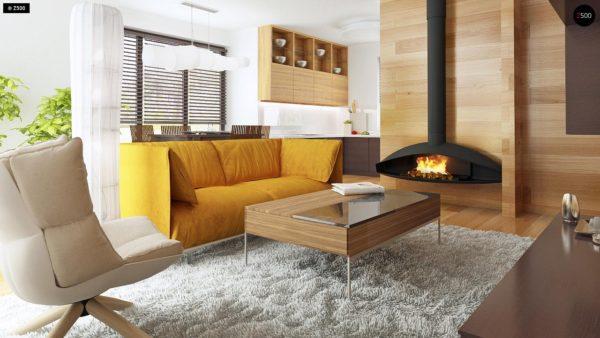 Фото 4 - Z101 - Небольшой дом с дополнительной комнатой на первом этаже, большим хозяйственным помещением и эркером в столовой.
