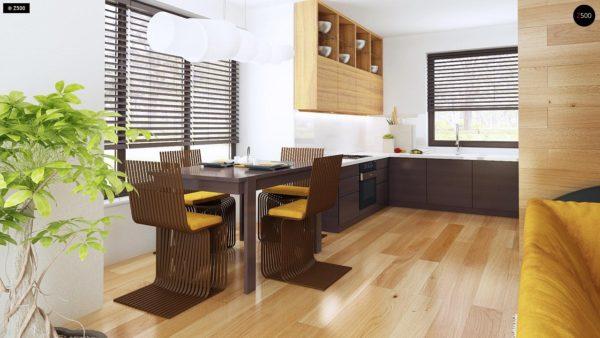 Фото 6 - Z101 - Небольшой дом с дополнительной комнатой на первом этаже, большим хозяйственным помещением и эркером в столовой.