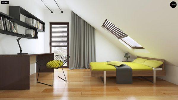 Фото 18 - Z101 - Небольшой дом с дополнительной комнатой на первом этаже, большим хозяйственным помещением и эркером в столовой.