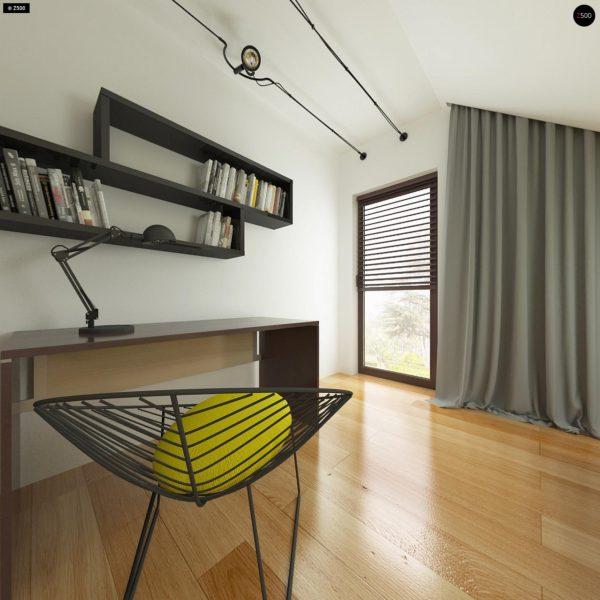 Фото 17 - Z101 - Небольшой дом с дополнительной комнатой на первом этаже, большим хозяйственным помещением и эркером в столовой.
