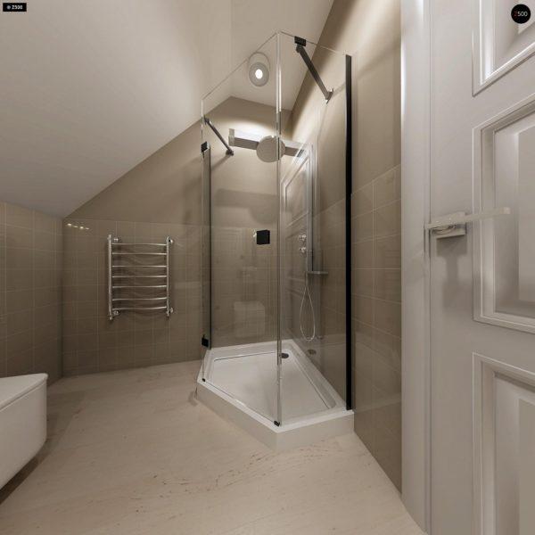 Фото 16 - Z102 - Компактный дом с мансардой, эркером в дневной зоне и c кабинетом на первом этаже.