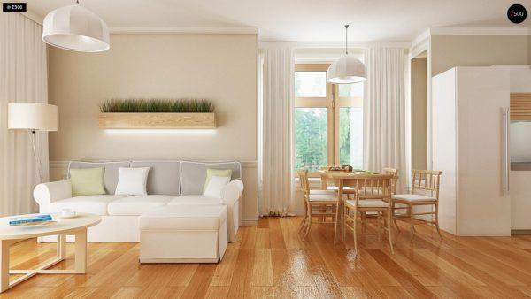 Фото 3 - Z106 - Проект традиционного дома с возможностью адаптации чердачного помещения.