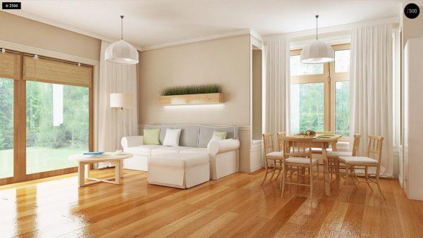 Фото 4 - Z106 - Проект традиционного дома с возможностью адаптации чердачного помещения.