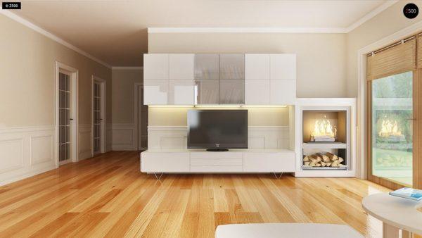 Фото 5 - Z106 - Проект традиционного дома с возможностью адаптации чердачного помещения.
