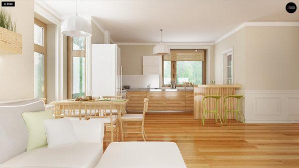 Фото 6 - Z106 - Проект традиционного дома с возможностью адаптации чердачного помещения.