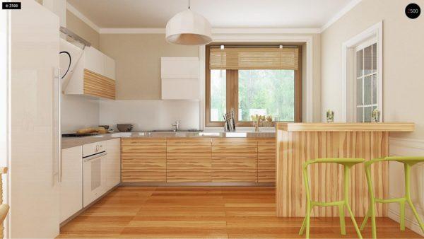 Фото 7 - Z106 - Проект традиционного дома с возможностью адаптации чердачного помещения.