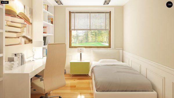 Фото 9 - Z106 - Проект традиционного дома с возможностью адаптации чердачного помещения.