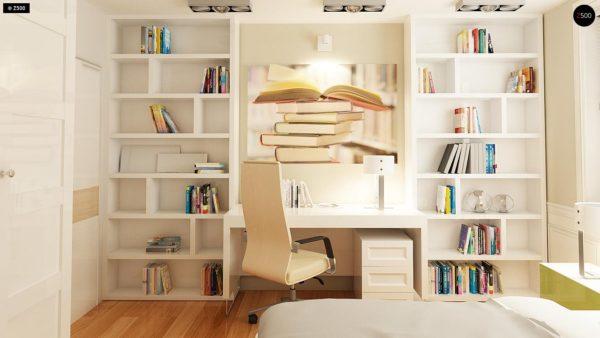 Фото 10 - Z106 - Проект традиционного дома с возможностью адаптации чердачного помещения.