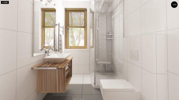 Фото 11 - Z106 - Проект традиционного дома с возможностью адаптации чердачного помещения.