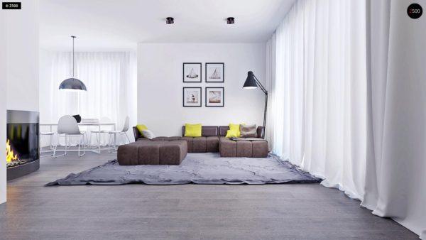 Фото 4 - Z108 - Проект функционального и удобного дома с комнатой над гаражом.