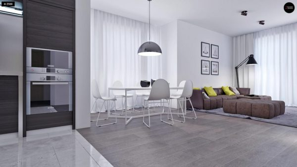 Фото 6 - Z108 - Проект функционального и удобного дома с комнатой над гаражом.
