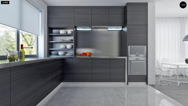 Фото 7 - Z108 - Проект функционального и удобного дома с комнатой над гаражом.