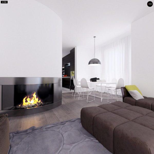 Фото 8 - Z108 - Проект функционального и удобного дома с комнатой над гаражом.