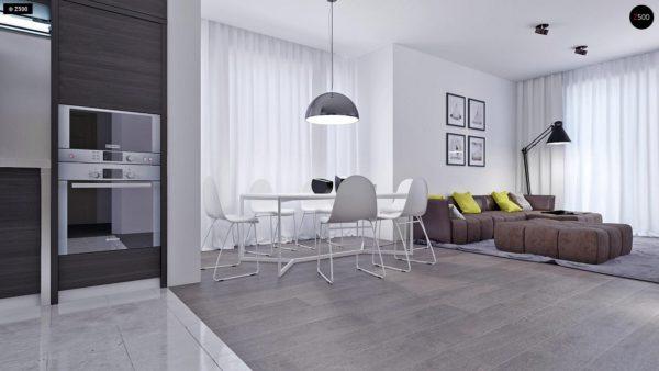 Фото 3 - Z108 - Проект функционального и удобного дома с комнатой над гаражом.