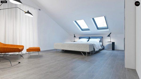 Фото 10 - Z108 - Проект функционального и удобного дома с комнатой над гаражом.