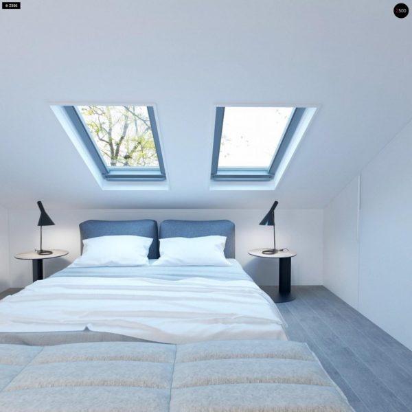Фото 12 - Z108 - Проект функционального и удобного дома с комнатой над гаражом.