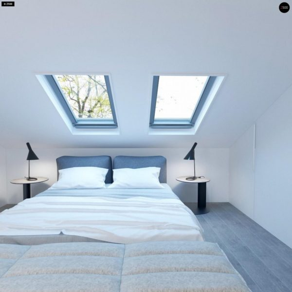 Фото 9 - Z108 - Проект функционального и удобного дома с комнатой над гаражом.