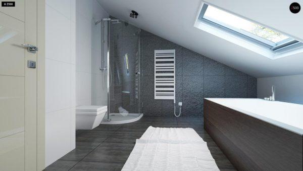 Фото 14 - Z108 - Проект функционального и удобного дома с комнатой над гаражом.