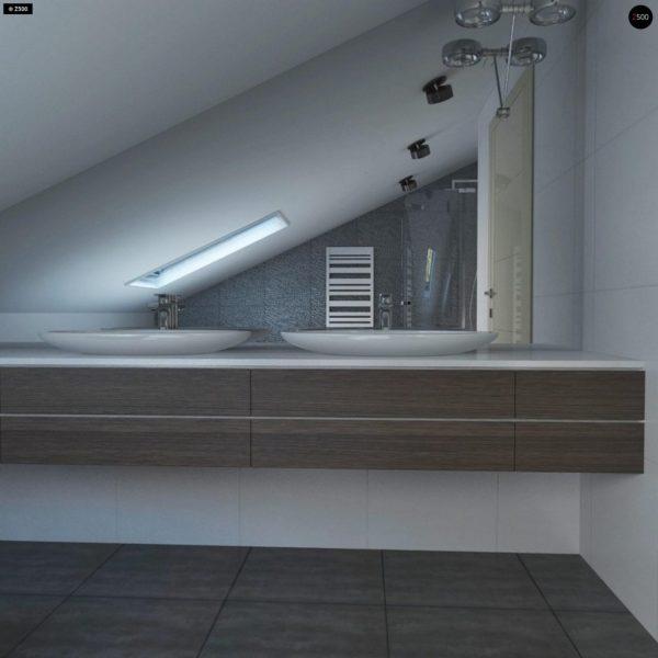 Фото 15 - Z108 - Проект функционального и удобного дома с комнатой над гаражом.