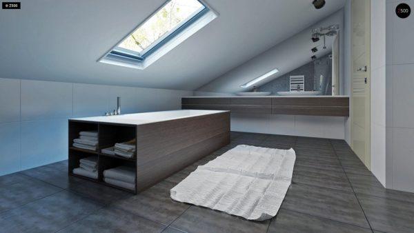 Фото 13 - Z108 - Проект функционального и удобного дома с комнатой над гаражом.