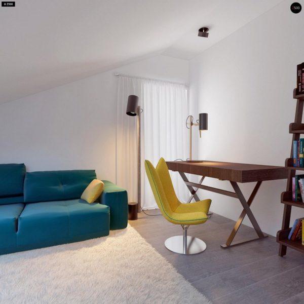 Фото 19 - Z108 - Проект функционального и удобного дома с комнатой над гаражом.