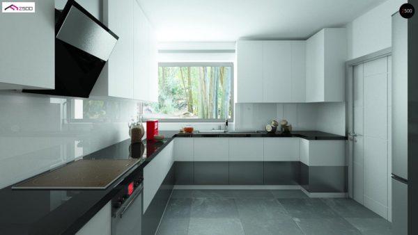 Фото 4 - Z122 v2 - Версия проекта Z122 c дополнительной комнатой на мансарде вместо нового света.