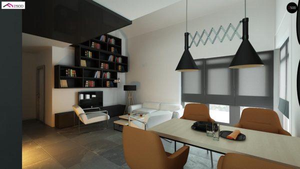 Фото 5 - Z122 v2 - Версия проекта Z122 c дополнительной комнатой на мансарде вместо нового света.