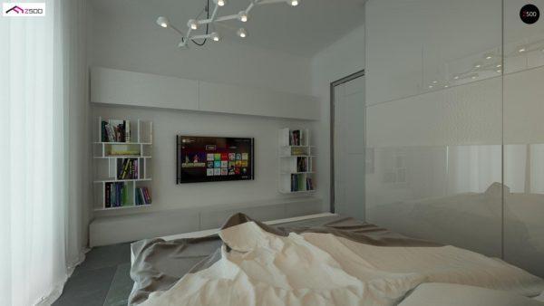 Фото 9 - Z122 v2 - Версия проекта Z122 c дополнительной комнатой на мансарде вместо нового света.