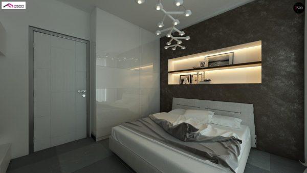Фото 10 - Z122 v2 - Версия проекта Z122 c дополнительной комнатой на мансарде вместо нового света.