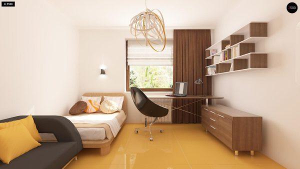 Фото 10 - Z123 - Одноэтажный дом традиционного характера с тремя удобными спальнями и встроенным гаражом.