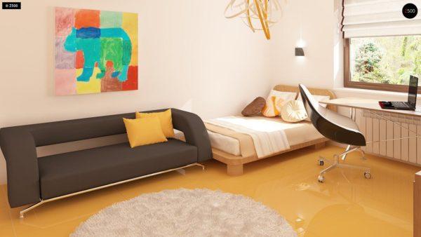 Фото 11 - Z123 - Одноэтажный дом традиционного характера с тремя удобными спальнями и встроенным гаражом.