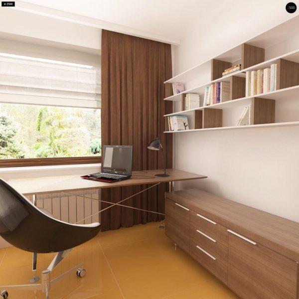 Фото 9 - Z123 - Одноэтажный дом традиционного характера с тремя удобными спальнями и встроенным гаражом.