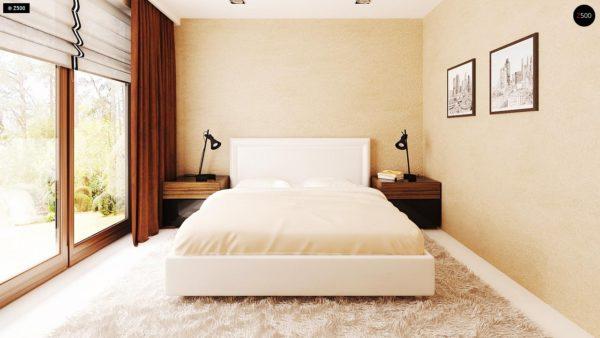 Фото 15 - Z123 - Одноэтажный дом традиционного характера с тремя удобными спальнями и встроенным гаражом.