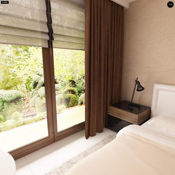 Фото 16 - Z123 - Одноэтажный дом традиционного характера с тремя удобными спальнями и встроенным гаражом.