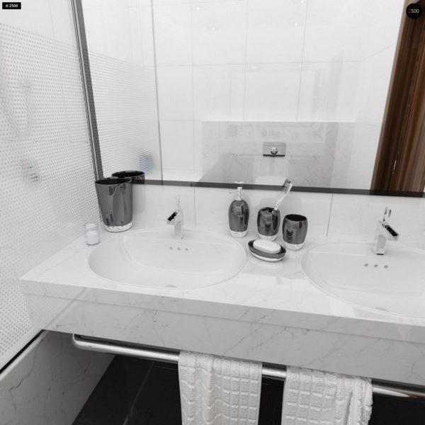 Фото 20 - Z123 - Одноэтажный дом традиционного характера с тремя удобными спальнями и встроенным гаражом.