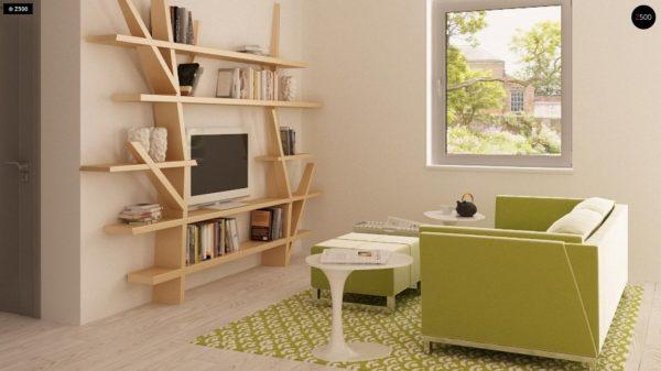 Фото 4 - Z126 - Традиционный практичный  дом с современными элементами архитектуры.