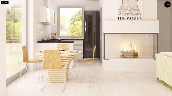 Фото 6 - Z126 - Традиционный практичный  дом с современными элементами архитектуры.