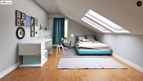 Фото 4 - Z128 - Функциональный и уютный дом с дневной зоной, расположенной со стороны входа.