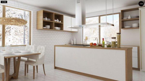 Фото 6 - Z131 - Проект традиционного одноэтажного дома с возможностью обустройства мансарды.