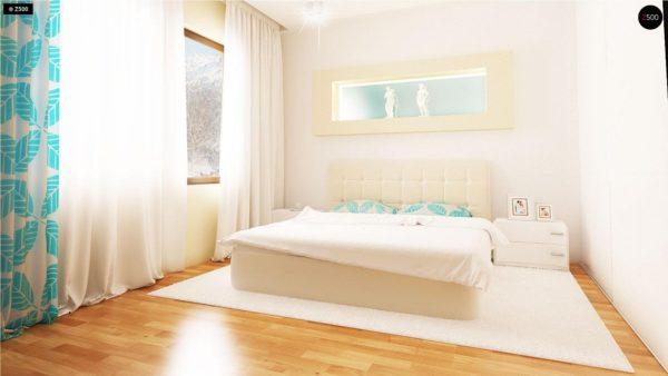Фото 12 - Z131 - Проект традиционного одноэтажного дома с возможностью обустройства мансарды.