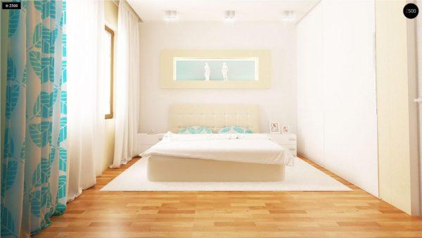 Фото 13 - Z131 - Проект традиционного одноэтажного дома с возможностью обустройства мансарды.