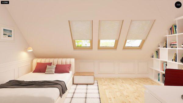 Фото 9 - Z14 - Функциональный и уютный дом с дополнительной спальней на первом этаже Простой и экономичный в строительстве.