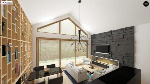 Фото 3 - Z151 - Функциональный компактный дом интересного дизайна.