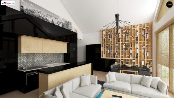 Фото 4 - Z151 - Функциональный компактный дом интересного дизайна.
