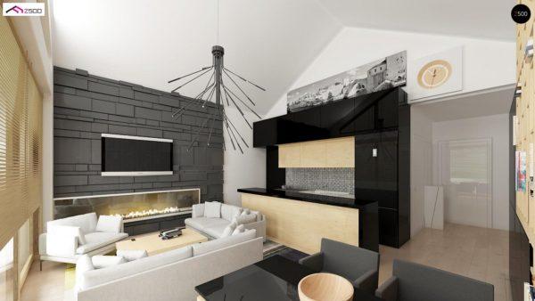 Фото 5 - Z151 - Функциональный компактный дом интересного дизайна.