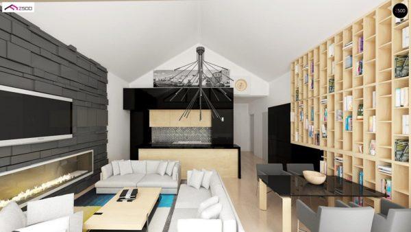 Фото 6 - Z151 - Функциональный компактный дом интересного дизайна.
